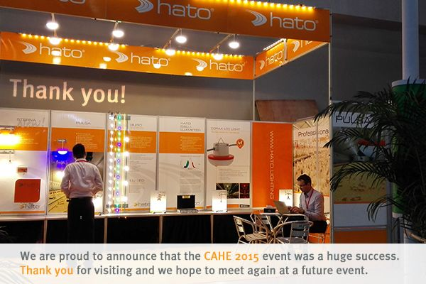 HATO BV - Thank you CAHE 2015